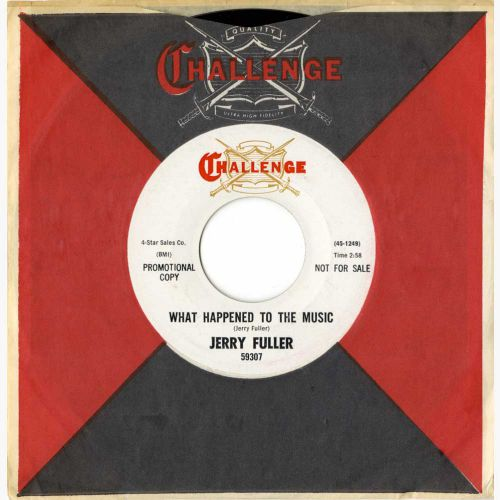 Jerry Fuller 'What Happened To The Music' courtesy of Tony Rounce