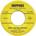 Screamin' Joe Neal 'Rock'n'Roll Deacon' courtesy of Roger Armstrong