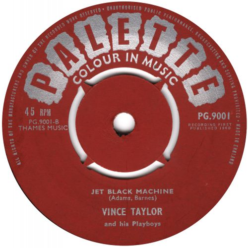 Vince Taylor 'Jet Black Machine' courtesy of Roger Armstrong
