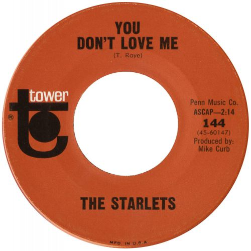 The Starlets 'You Don't Love Me' courtesy of Mick Patrick