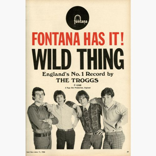 Wild Thing advert