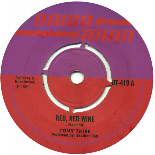 Tony Tribe 'Red Red Wine' courtesy of Laurence Cane-Honeyset