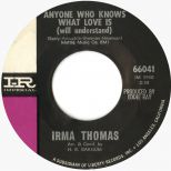 Irma Thomas 'Anyone Who Knows What Love Is (Will Understand)' courtesy of Mick Patrick