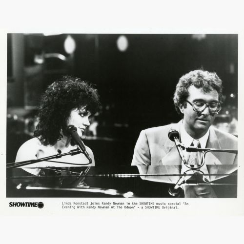 Linda Ronstadt and Randy Newman courtesy of Mick Patrick