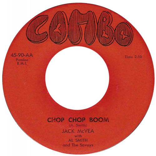 Jack McVea 'Chop Chop Boom' courtesy of Peter Vacher