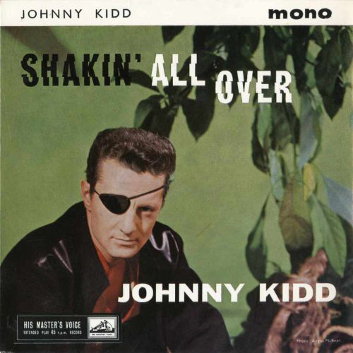 Johnny Kidd & The Pirates 'Shakin' All Over' courtesy of Rob Finnis