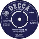 The Birds 'You Don't Love Me (You Don't Care)' courtesy of Rob Finnis
