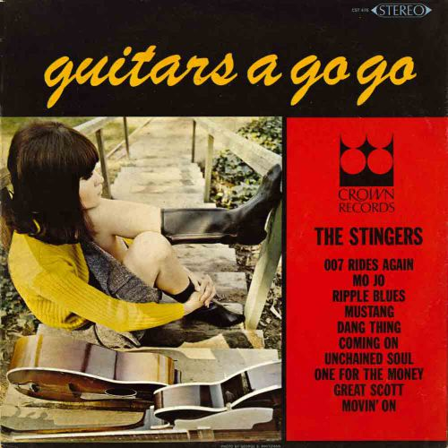 Guitars A Go Go courtesy of Tony Rounce