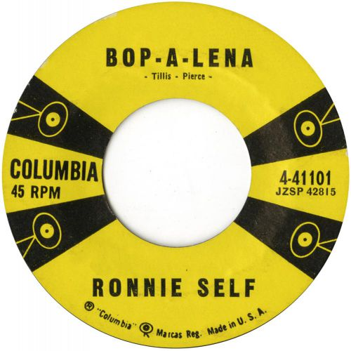 Ronnie Self 'Bop-A-Lena' courtesy of Roger Armstrong