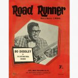 Bo Diddley 'Road Runner' song sheet courtesy of Rob Finnis