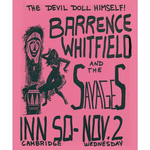 Barrence Whitfield And The Savages courtesy of Muir Mackean