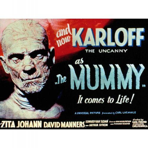 The Mummy advert
