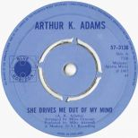 Arthur K Adams 'She Drives Me Out Of My Mind' courtesy of Tony Rounce