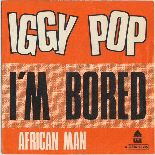 Iggy Pop 'I'm Bored' courtesy of John Brett