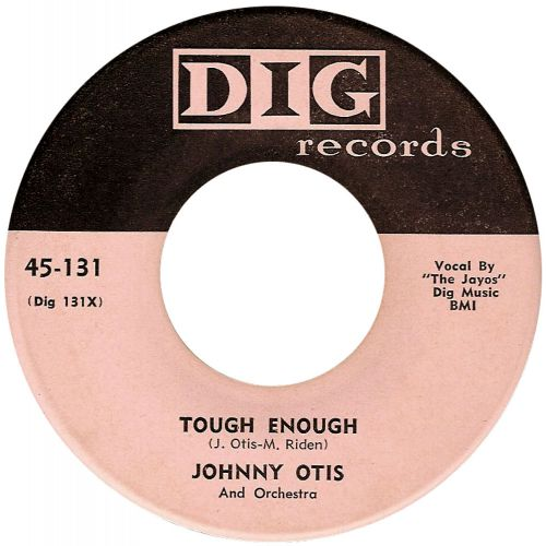 Johnny Otis 'Tough Enough' courtesy of Victor Pearlin