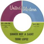 Trini Lopez 'Sinner Not A Saint' courtesy of Tony Rounce