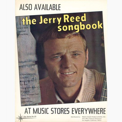 The Jerry Reed songbook courtesy of Colm O'Brien