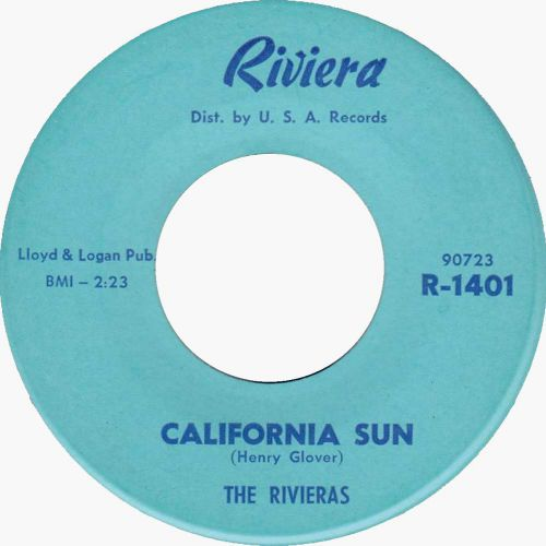 The Rivieras 'California Sun'