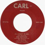Rod Bernard & The Twisters 'All Night In Jail'
