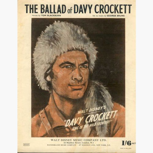The Ballad of Davy Crockett courtesy Colm O'Brien