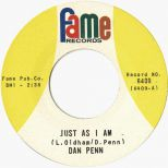 Dan Penn 'Just As I Am'