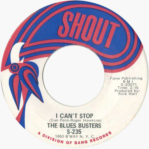 The Blues Busters 'I Can't Stop'