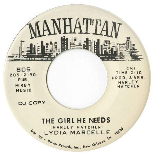 Lydia Marcelle 'The Girl He Needs'