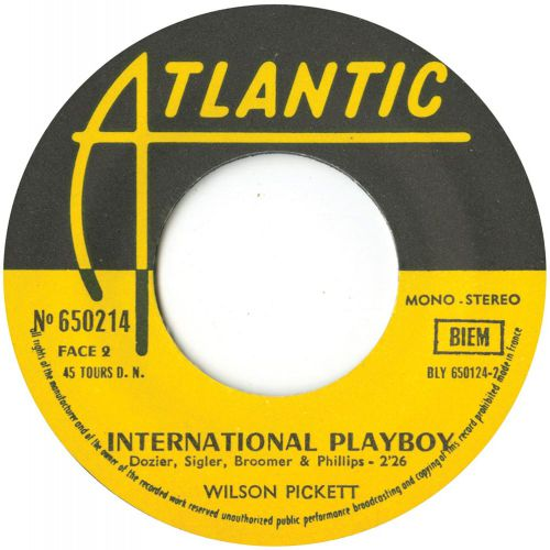 International Playboy by Wilson Pickett