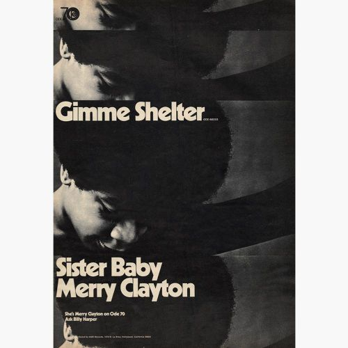 Merry Clayton 'Gimmie Shelter'