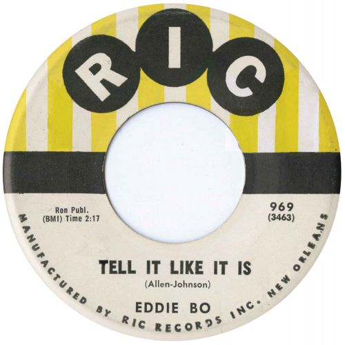 Eddie Bo 'Tell It Like It Is'