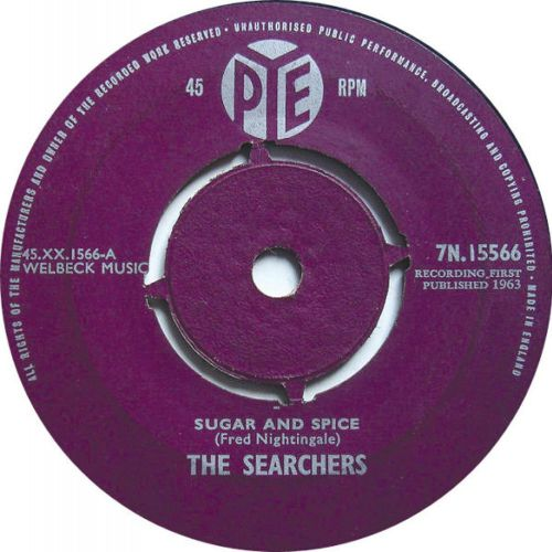 The Searchers 'Sugar And Spice'
