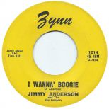 Jimmy Anderson - I Wanna' Boogie