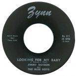 Jimmy Dotson & The Blue Boys 'Looking For My Baby'