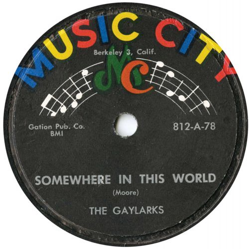 The Gaylarks 'Somewhere In This World'