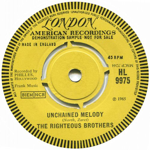 The Righteous Brothers 'Unchained Melody'
