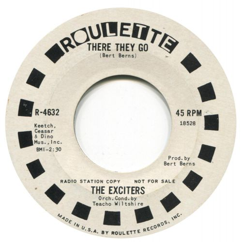 The Exciters 'There They Go'