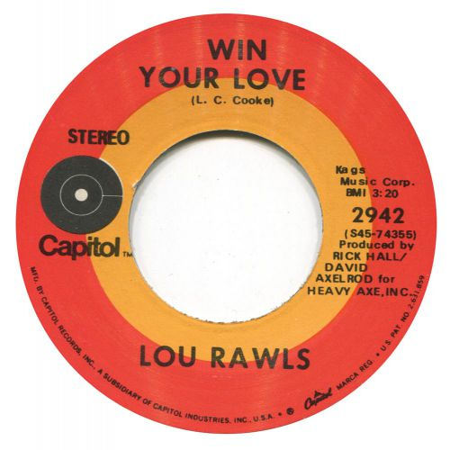 'Win Your Love' Lou Rawls