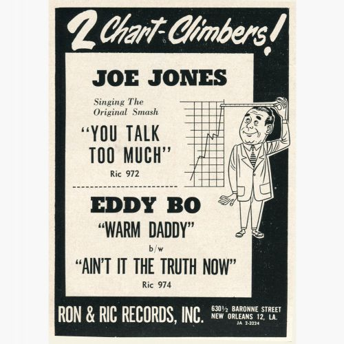 Eddie Bo advert