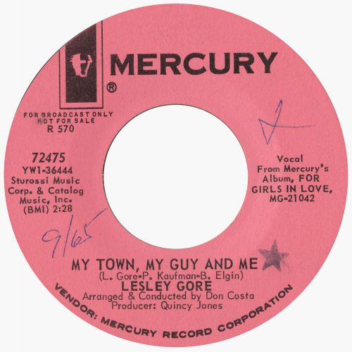 Lesley Gore 'My Town, My Guy And Me'