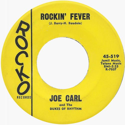 Joe Carl & The Dukes Of Rhythm 'Rockin' Fever'