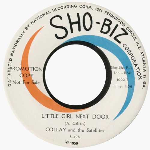 Collay & The Satellites 'Little Girl Next Door'