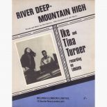 Ike & Tina Turner 'River Deep - Mountain High' songsheet