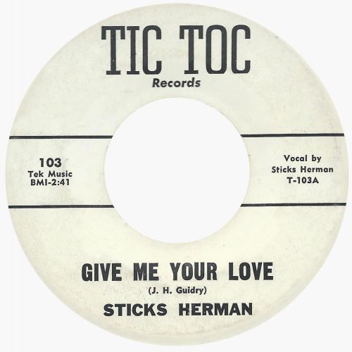 Sticks Herman 'Give Me Your Love'