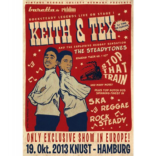Keith & Tex poster