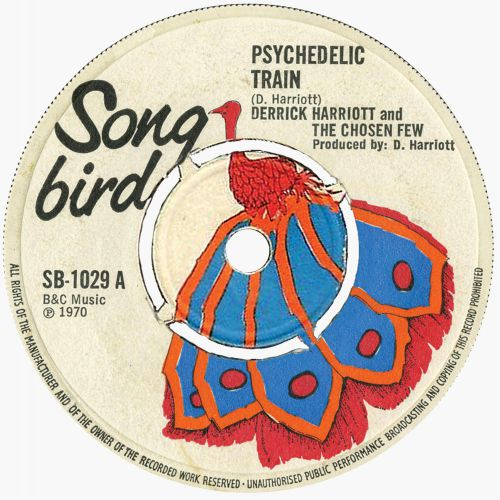 Derrick Harriott & The Chosen Few 'Psychedelic Train'