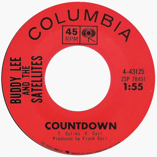 Buddy Lee & The Satellites 'Countdown'