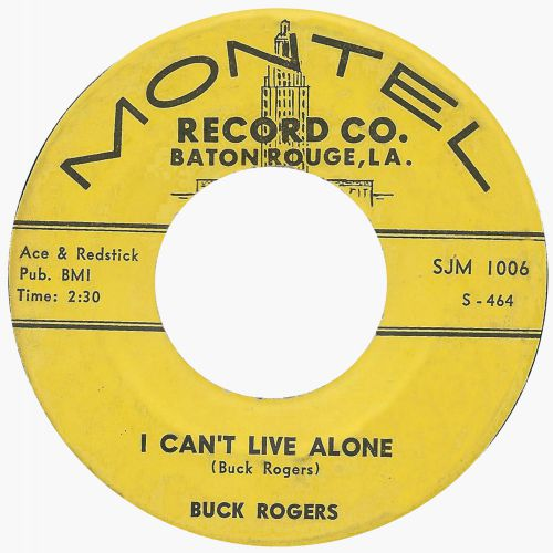 Buck Rogers 'I Can't Live Alone'