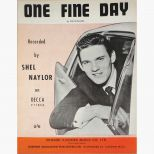 Shel Naylor 'One Fine Day' songsheet