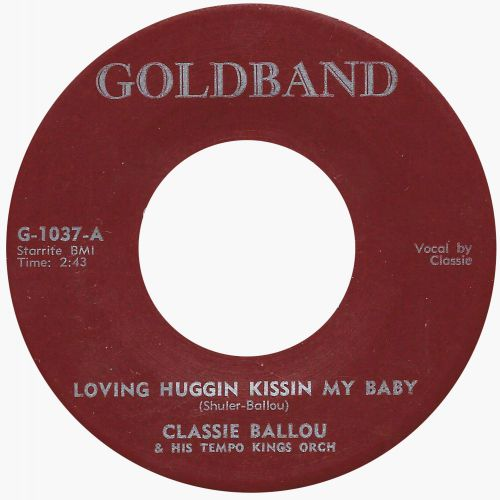 Classie Ballou & His Tempo Kings Orch 'Loving Huggin Kissin My Baby'