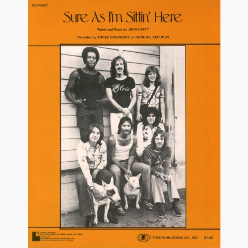 Three Dog Night 'Sure As I'm Sittin' Here' songsheet